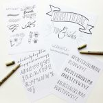 Workshops Handlettering